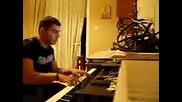 Никос Вертис - Mono Gia Sena Пиано Версия