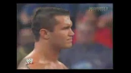 Randy Orton and Triple Face to face Raw 2004