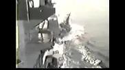 таран на руски кораби срещу американски кораби