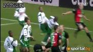 Много гаден инцидент във футбола !