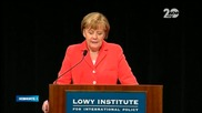 Меркел: Евросъюзът ще продължи да налага санкции на Русия - Новините на Нова