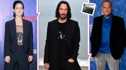 """Над 22 г. след """"Матрицата"""" и месеци преди """"Матрицата 4"""": Какво се случва с актьорите от филма днес?"""