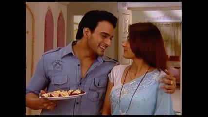 Angad and Sara Khan ..