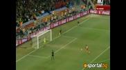 02.07.2010 Уругвай - Гана 1:1 (4:2) Всички голове + Дузпите - Мондиал 2010 Юар