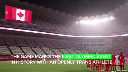 The first ever openly transgender athlete just competed in the Olympics