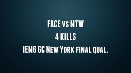 Iem6 Gc New York final qual : face vs mtw