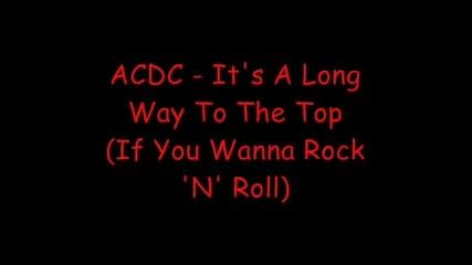 Ac/dc - Dirty Deeds Done Dirt Cheap (lyrics) Vbox7