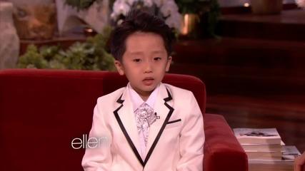 6 годишно дете чудо. Страхотно изпълнение на пиано.