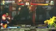Street Fighter Iv- Combofiend (abel) vs. Kai (el Fuerte) La Riots Iii 03_28_10 (sf4 Tournament)