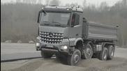 Тест-драйв на камион Mercedes Arocs !