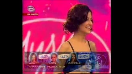 Ана отпадна от *Music Idol 2* - ~14.05.2008~