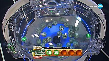 """Теглене на играта Лото 5/35 """"Златната топка"""" - 06.06.2019г."""