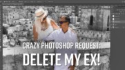 Deleting old love: A graphic artist's Photoshop timelapse