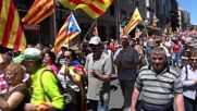 Spain: Thousands march in Barcelona for reinstatement of Catalan laws
