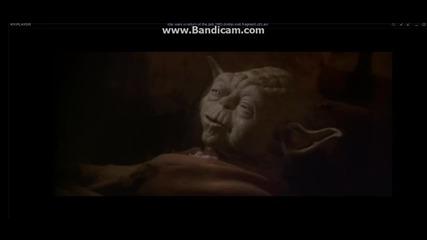 междузвездни войни завръщането на джедайте - смъртта на Йода