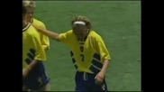 Трифон Иванов срещу Хенрик Ларсон(българия-швеция-0:4 1994 година)