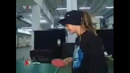 Bil I Tom Kaulitz - Igraqt Na Tenis Na Masa