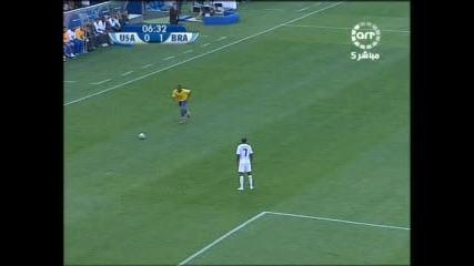 18.06 Бразилия - Сащ 3:0 Фелипе Мело гол ! Купа на Конфедерациите