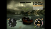 Gameplay:need for speed:most Wanted - няколко състезания от мен