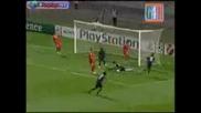 Lion vs Fiorentina 1 - 0 16.09.2009 Miralem Pjanic Goal