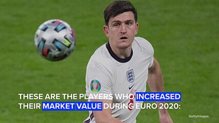 The most revalued players after EURO 2020