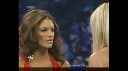 Michelle Mccool Attacks Eve Torres (02.01.09)