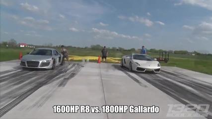 1600 коня Audi R8! Чудовище!
