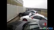 Идиот паркира Audi R8 смях ;д