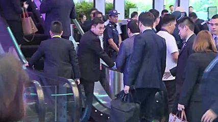 Singapore: Chinese premier and Duterte arrive at ASEAN Summit