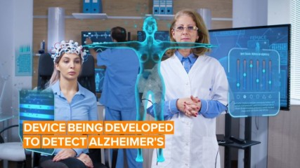 Would you wear a device that helps detect Alzheimer's?
