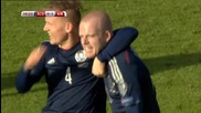 Шотландия 6 - 1 Гибралтар ( квалификация за Европейско първенство 2016 ) ( 29/03/2015 )