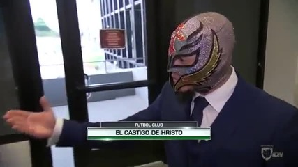 Стоичков срещу кечиста от W W E - Rey Mysterio