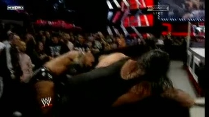 Wwe T L C Batista vs. The Undertaker Part 1 ( Chair Match)