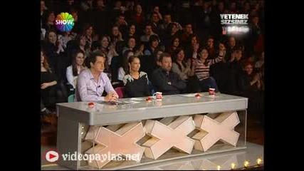 Йордан Илиев в- Yetenek Sizsiniz Turkiye - 2012