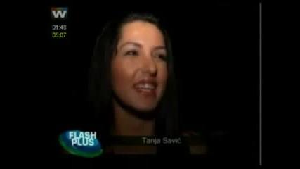 Tanja Savic - Intervju posle filma Srpski Oziljci - TV Flash Plus