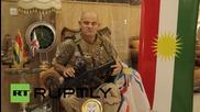 Ирак: Джим Атертън, 53-годишният английски войник