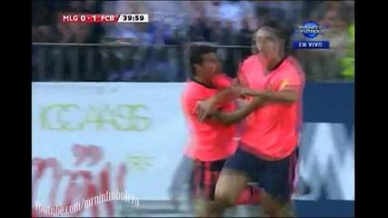 Малага - Барцелона 0:2