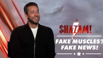 How Zachary Levi fit the million dollar Shazam! suit