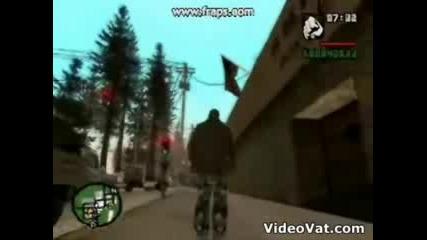 Пародия На Gta - San Andreas С Бг Аудио