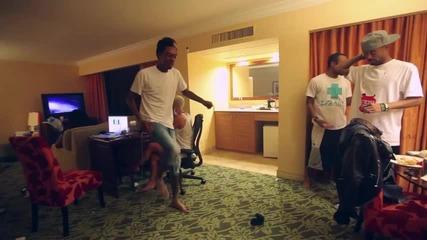 Wiz Khalifa Танцува с приятели