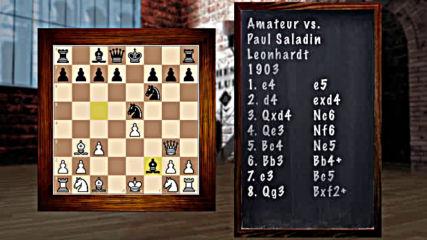 9411-09 - A Cascade of Short Brutal Chess Games -
