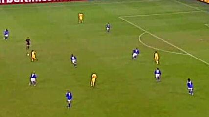 Шалке 04 - Левски София Купа на Уефа четвъртфинал първо полувреме