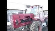 Запалване на трактор Т - 150 с пусков двигател