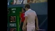 Ivan Lendl vs John Mcenroe. Us Open 1982