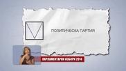 как се гласува с бюлетината за народни представители на 5 октомври