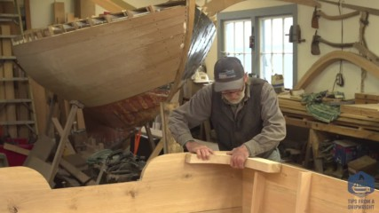Изработване на дървена, плоскодънна лодка. Епизод- 27