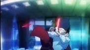 K Project Anime Yata vs. Fushimi - Full Fight (english Sub)