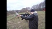 Тренировка отряда движения славянская сила