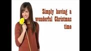 Demi Lovato - Wonderful Christmas Time + Lyrics