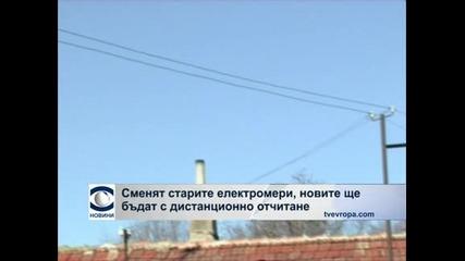 Делян Добрев иска електромери с дистанционно отчитане